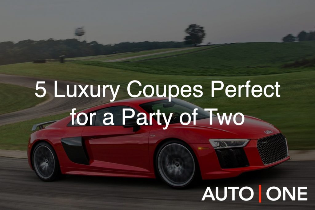 luxury coupes