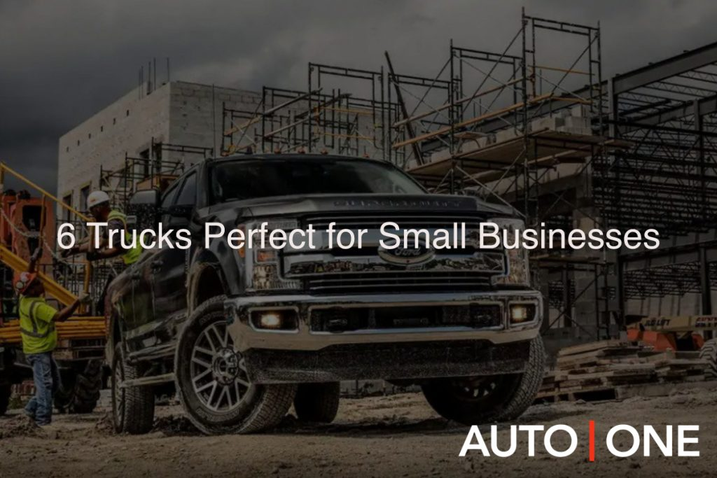 6 Trucks Perfect for Small Businesses