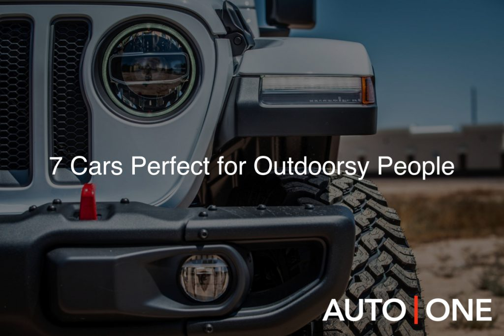 7 Cars Perfect for Outdoorsy People Image