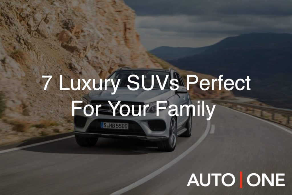 luxury cars for family