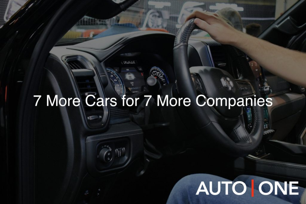 7 cars for your company