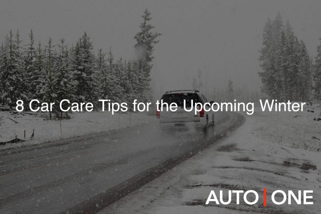 Car Care Tips for the Upcoming Winter