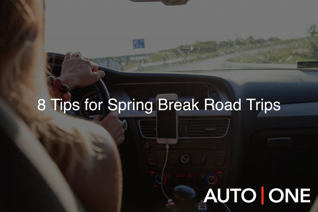 8 Tips for Spring Break Road Trips