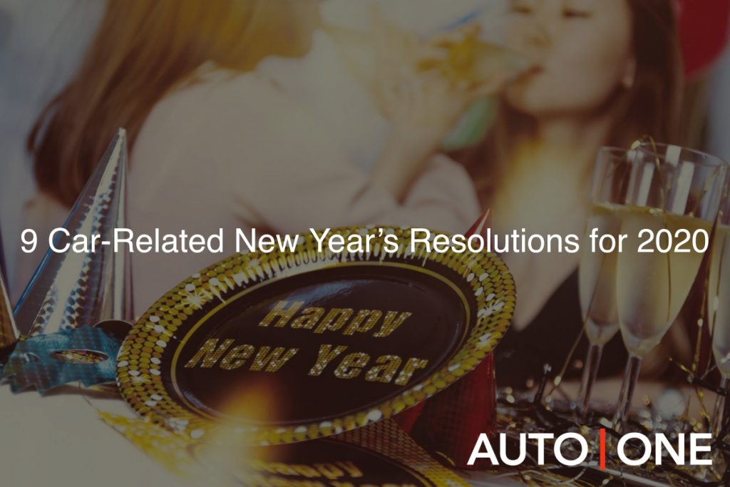 9 Car-Related New Year's Resolutions for 2020