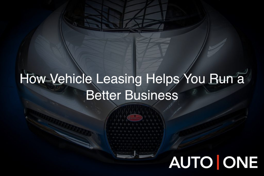 How Vehicle Leasing Helps You Run a Better Business