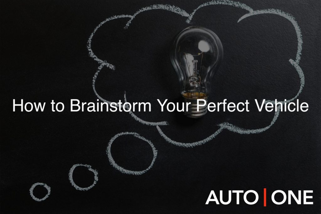 How to Brainstorm Your Perfect Vehicle