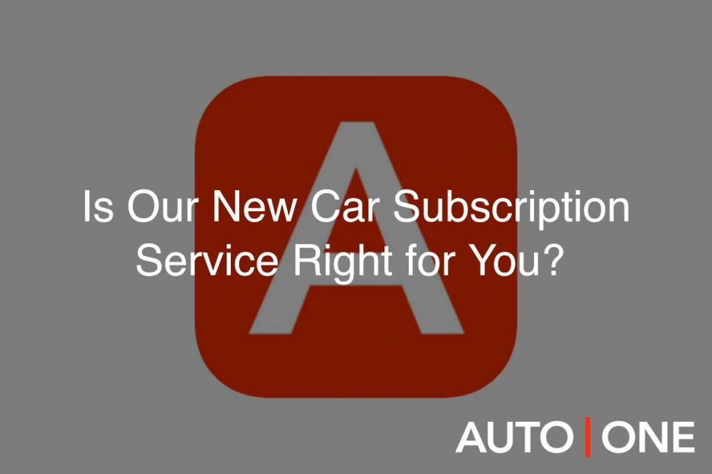 car subscription canada