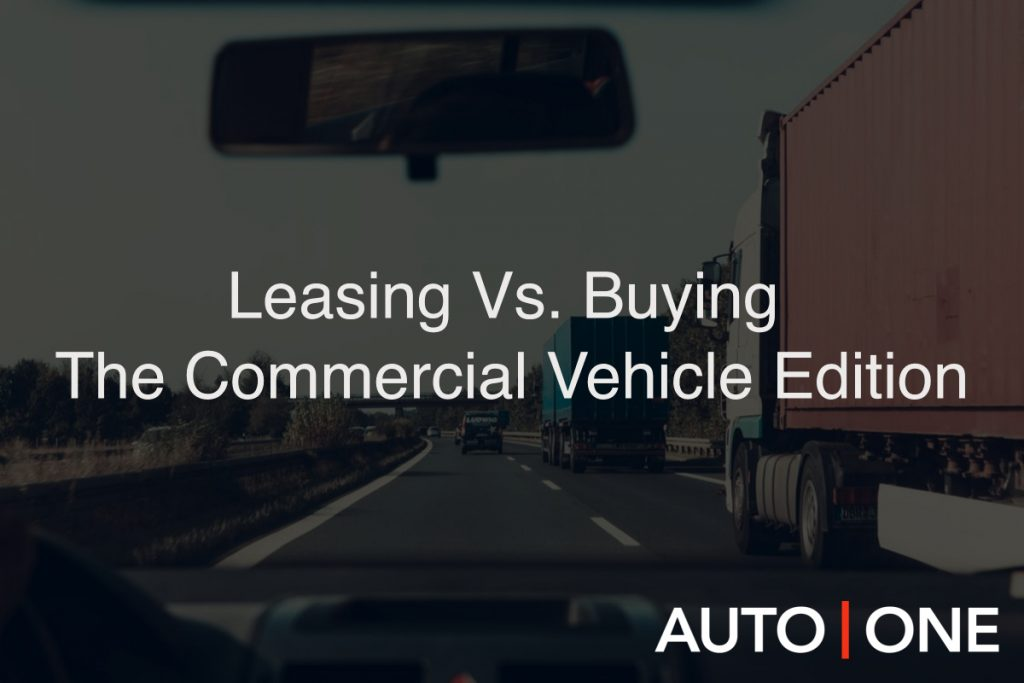 Leasing Vs. Buying: The Commercial Vehicle Edition