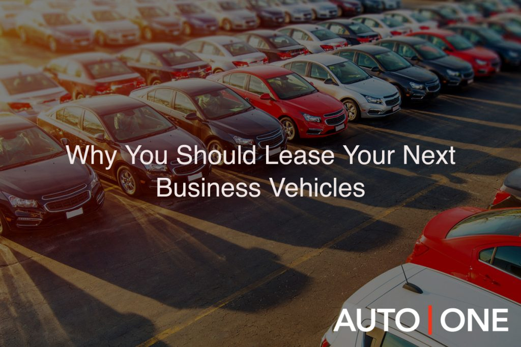 Buying might make sense for individuals, but businesses should lease their vehicles. Read these reasons from AUTO ONE Group why leasing is advantageous.
