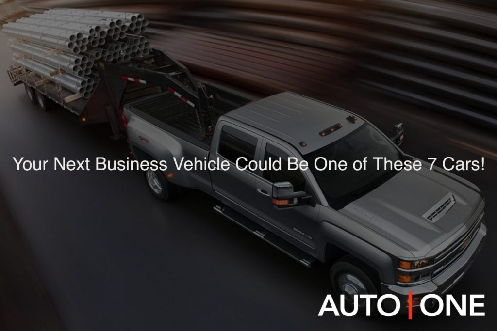 Your Next Business Vehicle Could Be One of These 7 Cars!