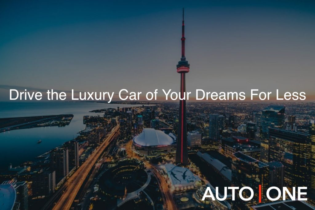 luxury car rentals toronto